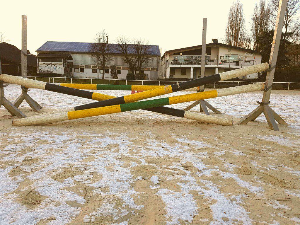 Turnierplatz RV Castrop-Rauxel im Winter